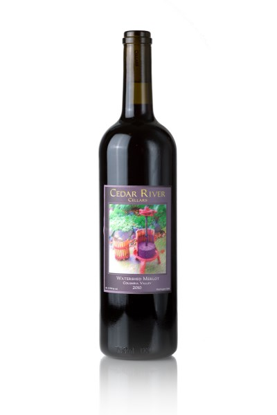 2014 Cedar River Cellars Watershed  Merlot